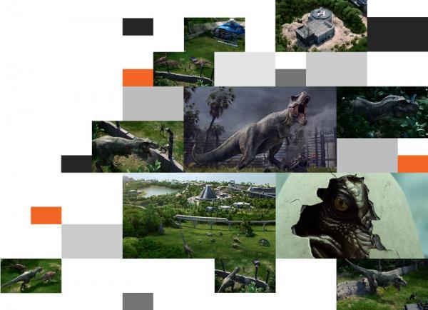 Jurassic World Evolution Strategic Overview Image
