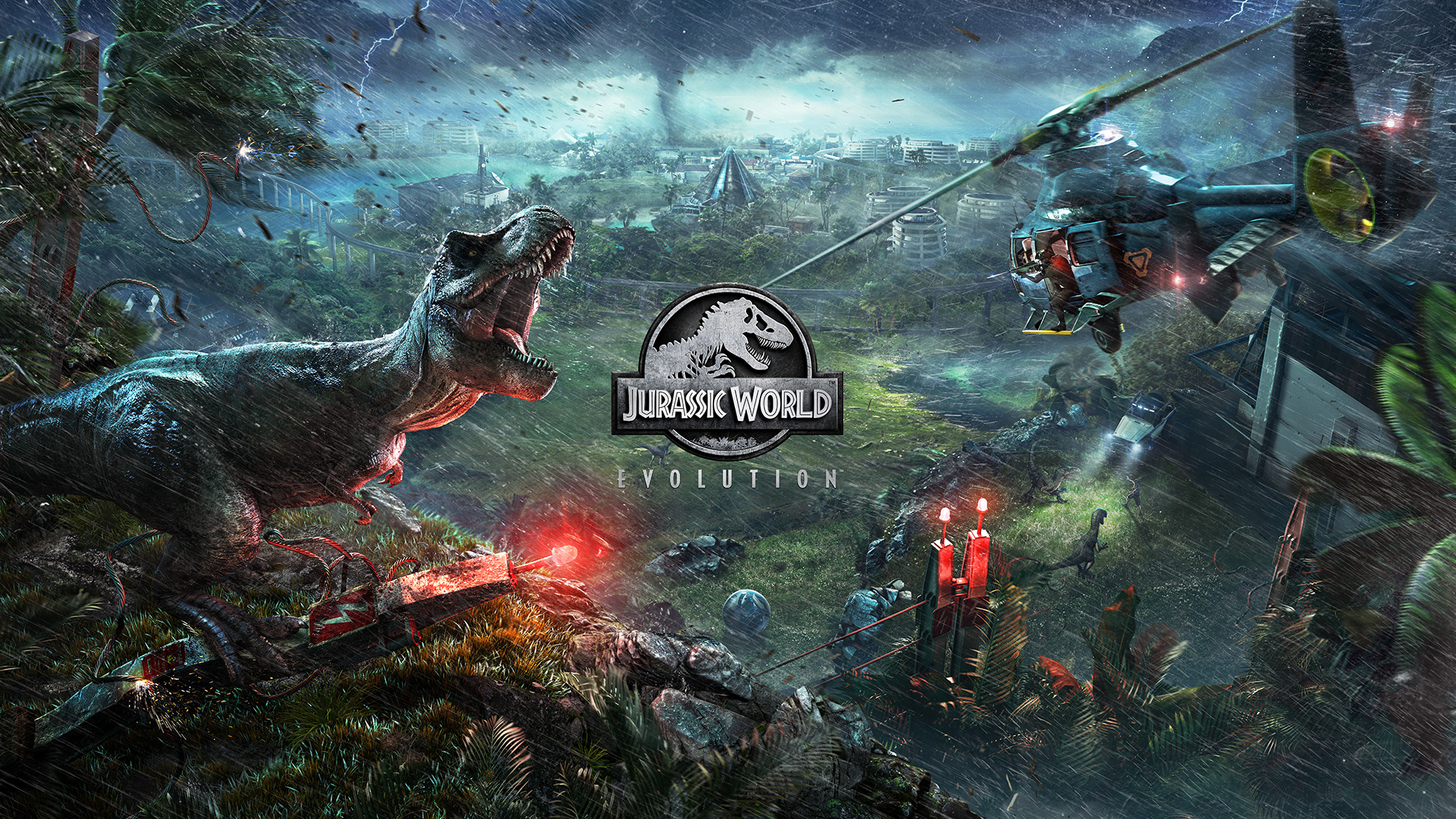 Jurassic World Evolution OUT NOW! - Frontier