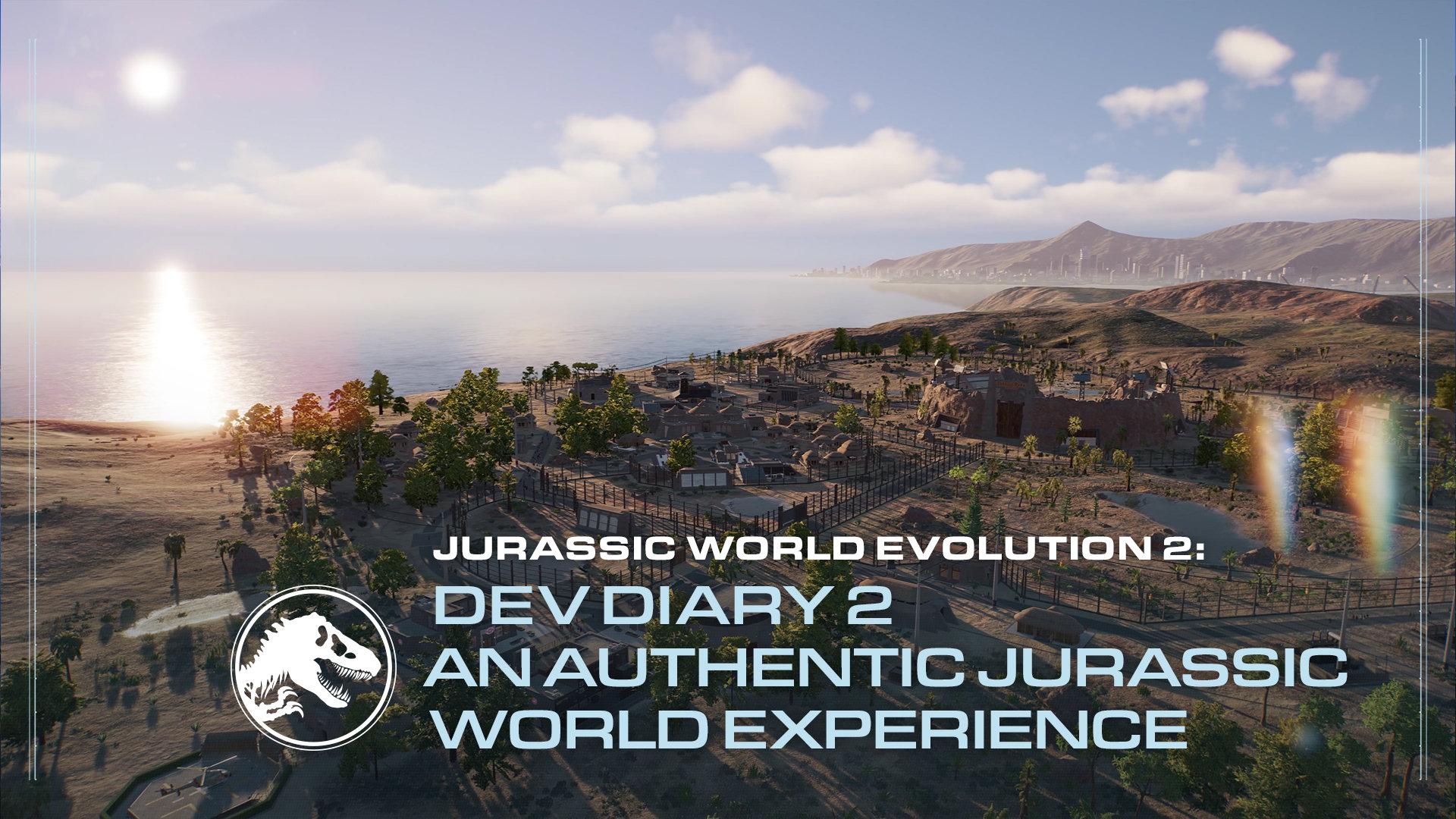 Jurassic World Evolution 2 - Dev Diary #2