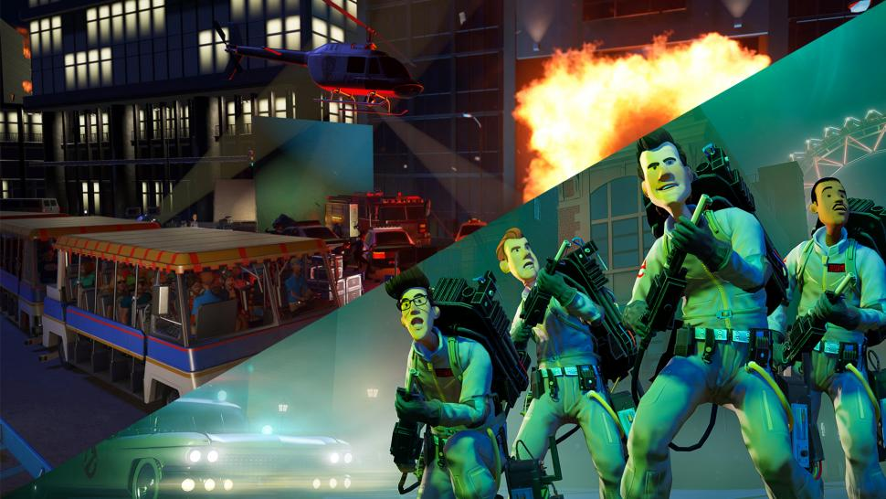 Planet Coaster: Console Edition - Ghostbusters & Studios Pack